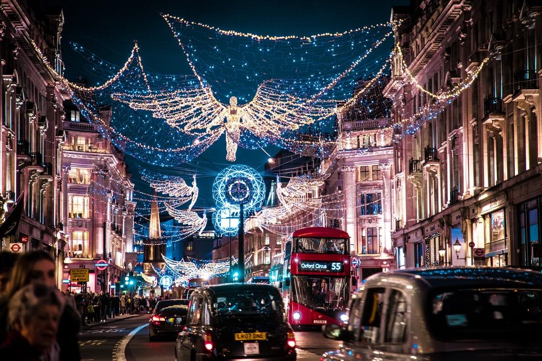 7 activités à faire à Londres pendant la période de Noël